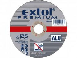 125x1mm Rezný kotúè na hliník EXTOL