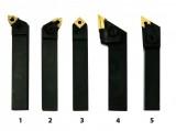 Sústružnícke nože HM 16 mm sada 5 ks