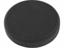 150x30mm leštiaci penový kotúè T10, èierny na suchý zips