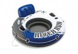 Kruh plavecký RIVER priemer 135cm modro / biely