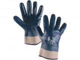 Potiahnuté rukavice PELA, modré, ve¾. 10