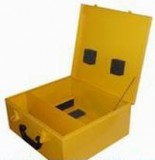 Kufor pre invertory OMICRON žltý PFC