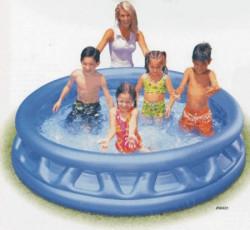 Bazén nafukovacie STRIEBORNÝ 188x46cm