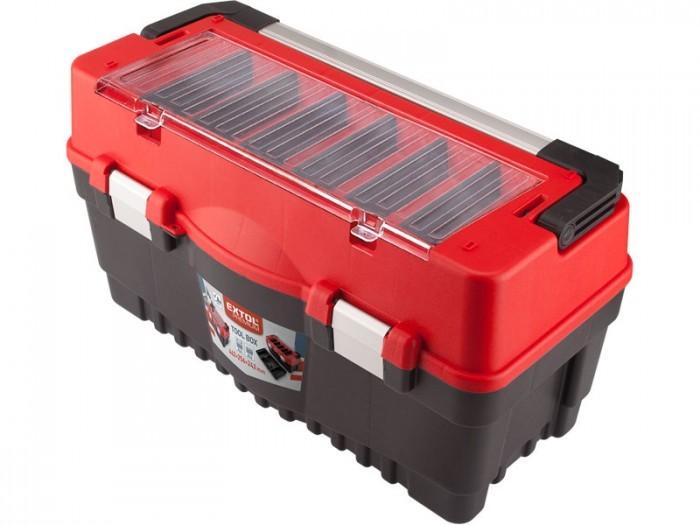 EXTOL Box na náradie CARBO veľ. L 595x289x328mm