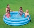 CRYSTAL 3 komorový 147x33cm Bazén nafukovací detský