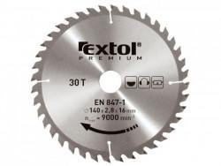 125x22,2 mm 40zubov Pílový kotúè EXTOL PREMIUM