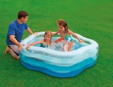 Bazén nafukovacie Pä�uholník 185x180x53cm INTEX