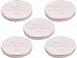 EXTOL ENERGY batérie lithiové, 5ks, 3V (CR2032)