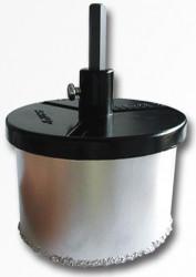 103 mm Vykružovacia diamantová korunka komplet