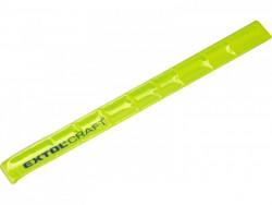 Náramok reflexný žltý, 340x30mm, EXTOL CRAFT 97270