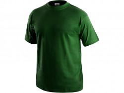 Trièko DANIEL krátky rukáv, bavlna, f¾aškovo zelenej