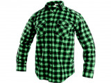 Flanelová koše¾a TOM zelená