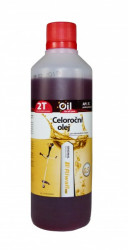 Celoroèný olej Riwall pre 2-taktné motory 0.5l