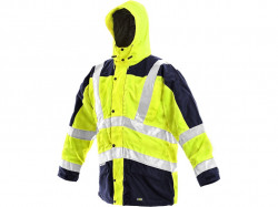 Reflexná bunda žlto-modrá LONDON 5v1