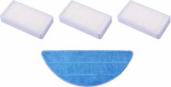 TESLA RoboStar T10/T30/T40 3ks HEPA filtr, 1ks mop z mikrovlákna