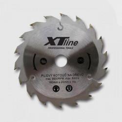 160x2,0x20 (16) mm 18zubov Pílový kotúè s SK plátkami XTline