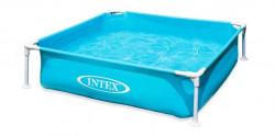 Intex 57173 skladací Bazén modrý mini 122x122x30cm