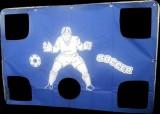 Futbalová bránka s plachtou 183x122x61cm