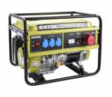 EXTOL CRAFT 421011 elektrocentrála benzínová 13HP/5,5kW (400V) 3x1,8kW (230V)