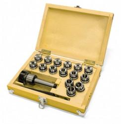 Klieštinový upínaè MK2 / M10 / ER25 + klieštiny 1,5-16mm OPTIMUM