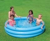Bazén nafukovací detský CRYSTAL 3 komorový 114x25cm