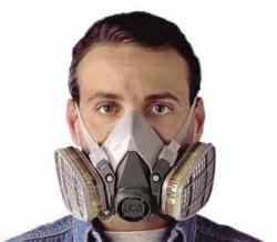 Ochranná maska 3M 6200 stredná